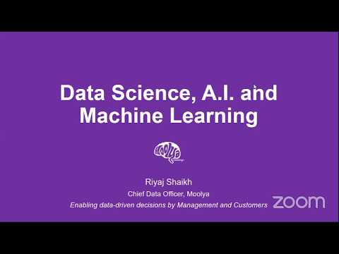 Data Science & Machine Learning - Part 1