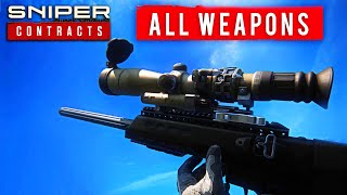 Sniper Ghost Warrior: Contracts - ALL WEAPONS