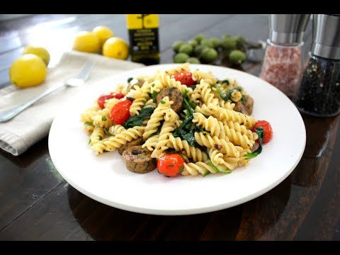 Fast and Easy Summer Pasta Recipe