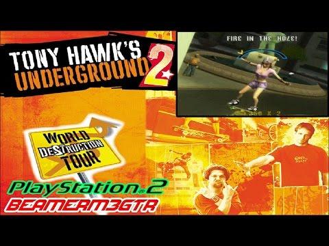 Tony Hawk's Underground 2 (PS2) - LongPlay - Story Mode 100% Walkthrough