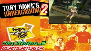 Tony Hawk's Underground 2 (PS2) - 100% Story LongPlay // BeamerM3GTR
