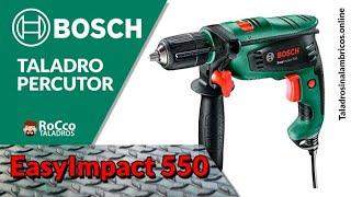 Taladro Percutor Bosch EasyImpact 550 ✔️