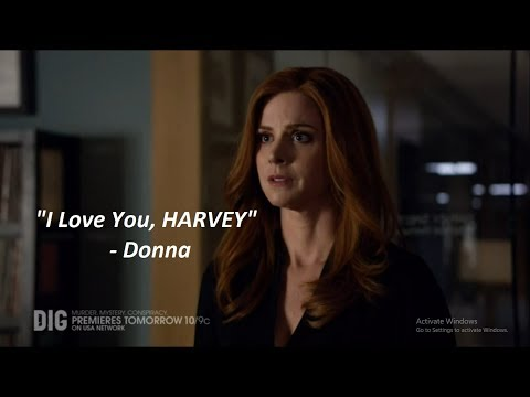 I Love You, Harvey || Darvey || Suits Season FINALE