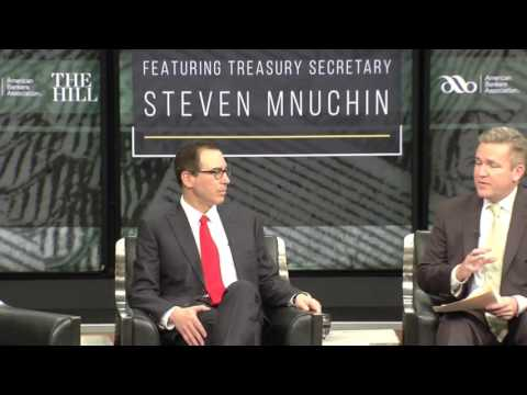 The Hill's Newsmaker Series // Interview With Treasury Secretary Steven Mnuchin