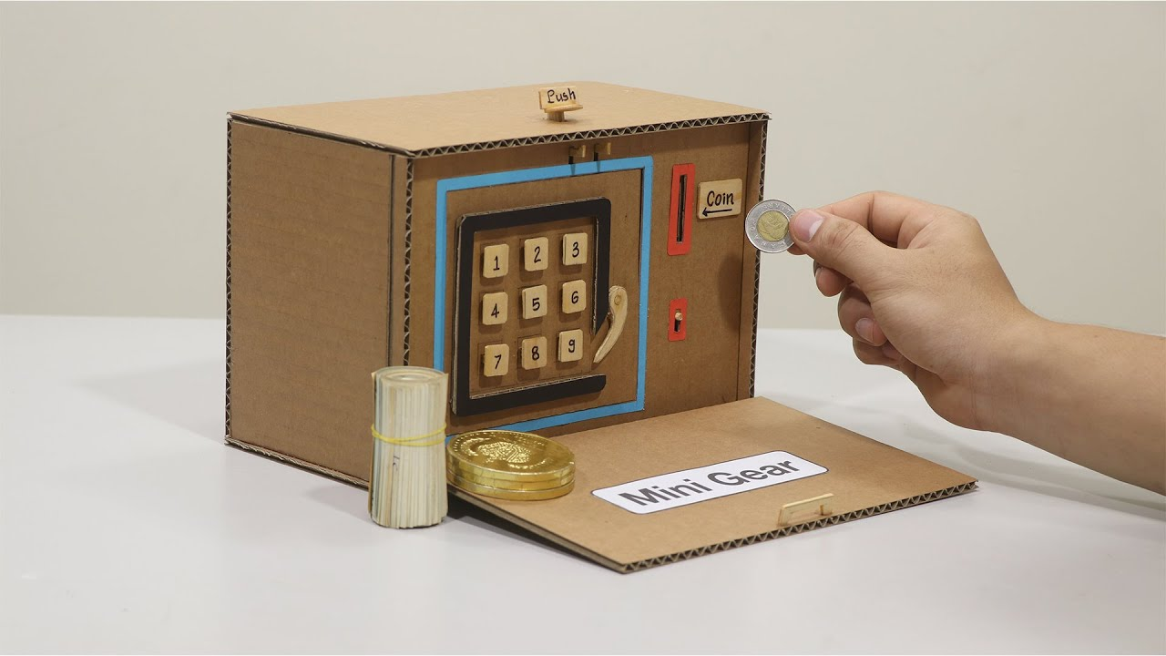 How to Make Personal Safe-Box and Saving Coin