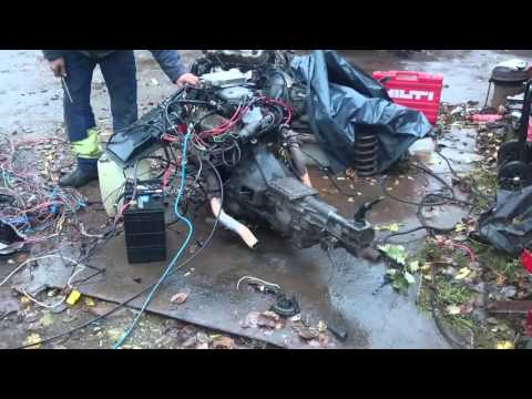 Ford v6 engine test