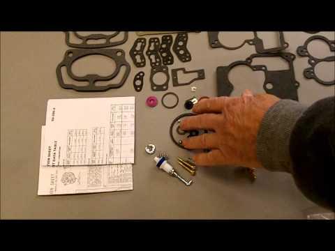 Rochester 2G, 2GC, 2 Jet Carburetor Rebuild Kit K6132
