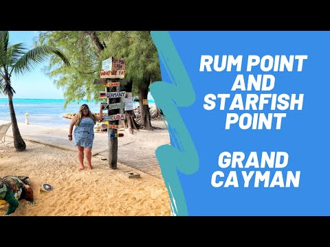 A Day In Grand Cayman-Rum Point And Starfish Point