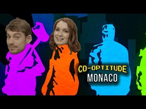 Let's Play Monaco! (Co-Optitude w/ Ryon & Felicia Day)