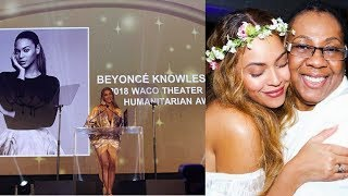 BEYONCE and Jay Z's Mother Gloria HONORED and Win AWARDS at 2018 Gala! BEYONCE CRIES during Speech!