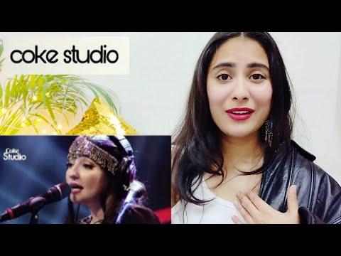 Indian girl react to Coke studio- Gul Panrra & Atif Aslam, Man Aamadeh Am, Season 8 | By Illumi Girl