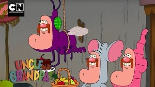 Uncle Grandpa | Trash Cat's New Friends | Cartoon Network