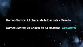 Romeo santos -  Canalla