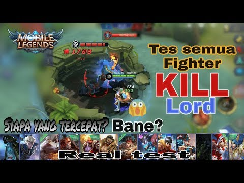 Hero fighter tercepat solo kill lord
