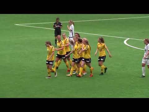 Høydepunkter LSK Kvinner - Stabæk, Toppserien 2018