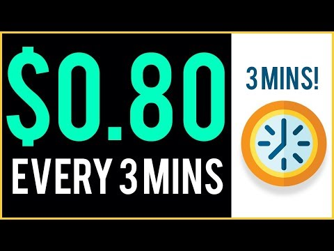 Earn $0.80 Every 3 MINUTES! (Over And Over Again)