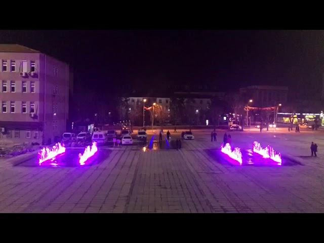Müzikli Danslı Fıskiye Sistemi Çorum Kent Meydanı