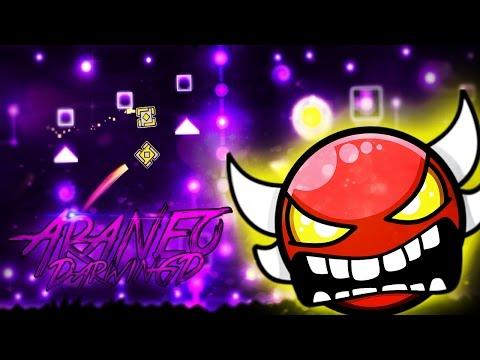 Araneo 100% by DarwinGD (Epic INSANE Demon) | Geometry Dash 2.1 | SoulsTRK