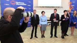 Prezentacja kandydatów w wyborach do Parlamentu Europejskiego 2014