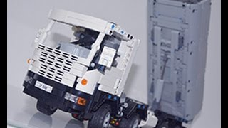 Lego 8x8 Scania dump truck