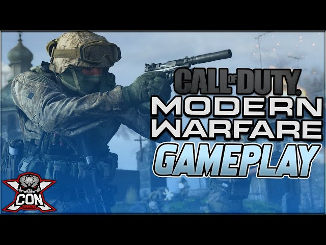 Call of Duty: Modern Warfare  Multiplayer Gameplay Commentary From XCON ToxicBeast