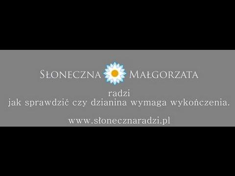 Jak sprawdzić czy dzianina wymaga wykończenia - słonecznaradzi.pl