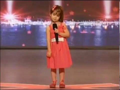 Niña canta - Supe Que Me Amabas - Marcela Gandara