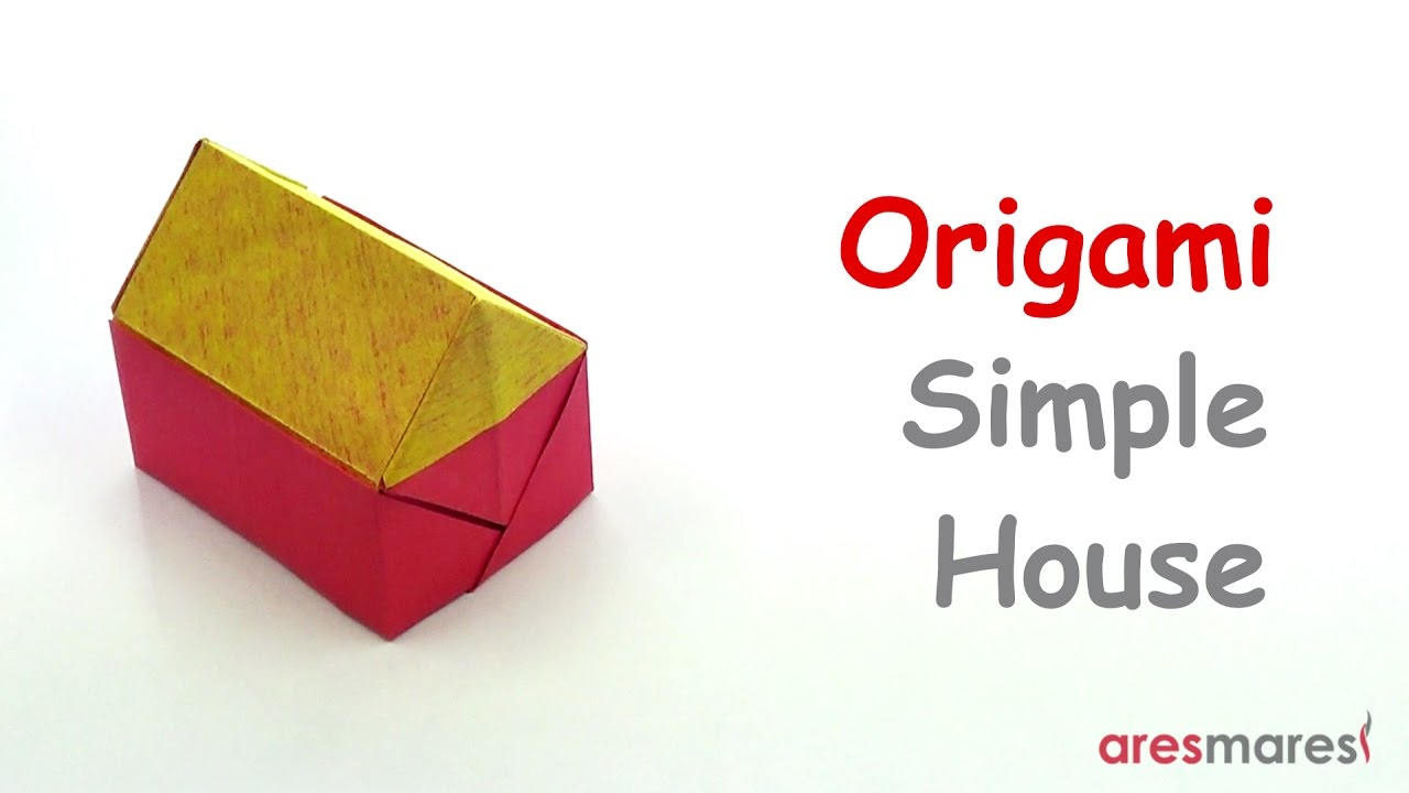 Origami Simple House Easy