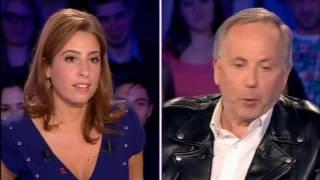 Un bel échange entre Fabrice Luchini et Léa Salamé