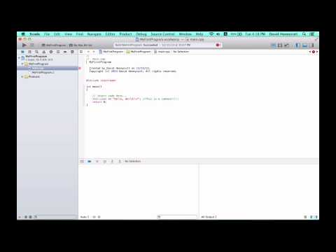 Mac C++ Programming #2 - Comments