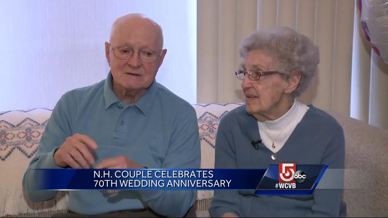 70th Wedding Anniversary.N H Couple Celebrates 70th Wedding Anniversary
