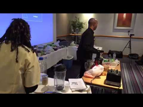 Living SuperFood Demo in Croydon London UK 032517