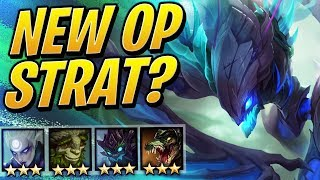 THE NEW STRAT! HYPER ROLL WOODLAND DRUID | Teamfight Tactics Set 2 | TFT | LoL Auto Chess