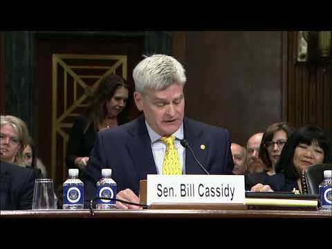 Cassidy introduces LA Eastern District Court nominee Wendy Vitter at Judiciary Committee hearing