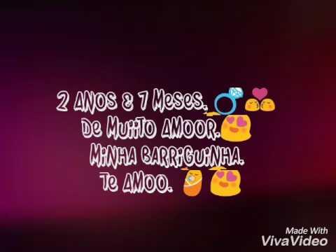 2 Anos E 7 Meses De Muito Amor Minha Princesa Te Amo Demais Youtube