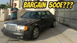 I Bought the Cheapest Mercedes 500E in the USA: THE ORIGINAL Porsche Panamera?
