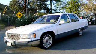 1996 Cadillac Fleetwood Brougham 350 TPI last Year Baby Limo Bubble Body