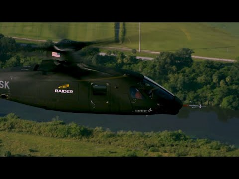 Meet Sikorsky RAIDER X.