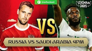 Russia 5-0 Saudi Arabia | Statman Dave Live