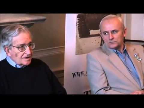 Noam Chomsky - Answering Questions at Press Conference