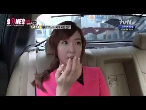 Vietsub SNSD Jessica những câu chuyện trên Taxi