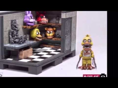 McFarlane Toys All FNaF Building Sets
