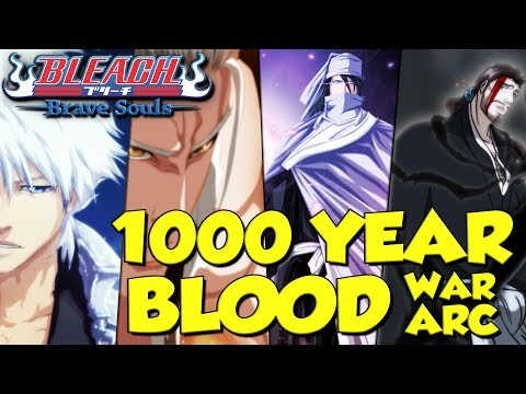 MANGA CHARACTERS CONFIRMED! FIRST 1000 YEAR BLOOD ARC CHARACTERS NAMED Bleach Brave Souls