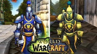 Graphics Comparison Legion vs Vanilla World of Warcraft (WOW)