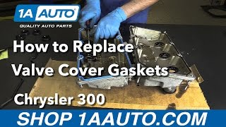 How to Replace Valve Cover Gasket 05-10 Chrysler 300