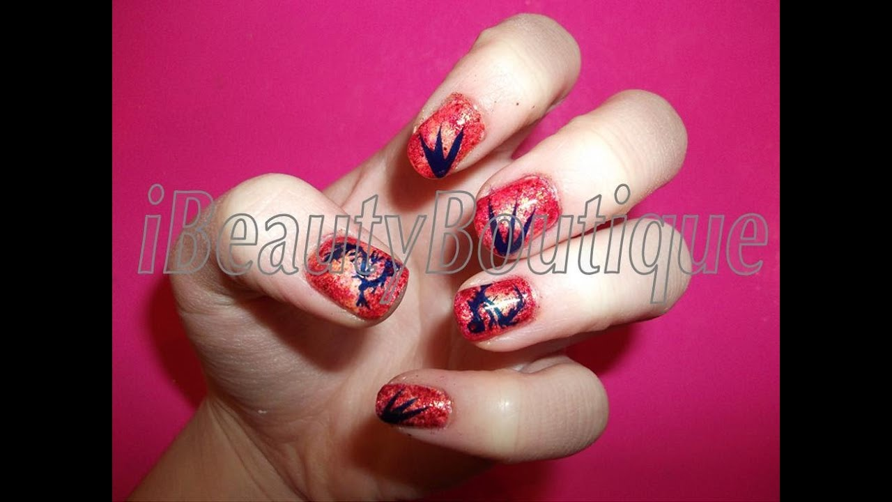 Chinese new year year of the dragon nail art ibeautyboutique chinese new year year of the dragon nail art ibeautyboutique youtube prinsesfo Gallery