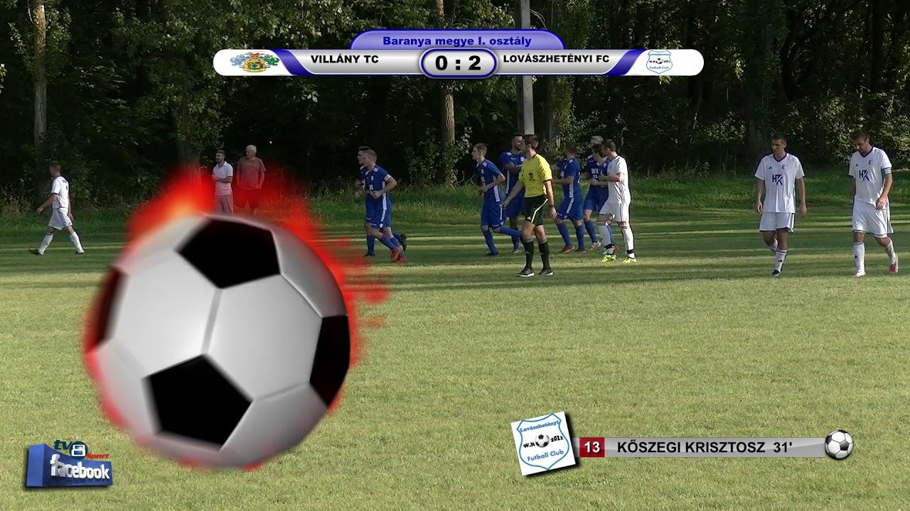 VILLÁNY TC - LOVÁSZHETÉNYI FC      1 - 3  (1 - 3)
