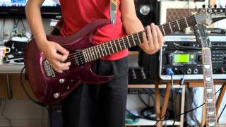 Planetshakers - No Compromise - Guitar Cover - Ibanez RGA 121 (Duncan Jazz/Custom)