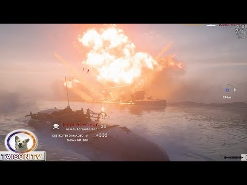 Hundir la Flota 2 - Battlefield 1 - DLC Naval Cabo Helles - 동영상