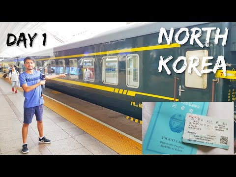 Train to NORTH KOREA 🇰🇵  Visa , Train Tickets